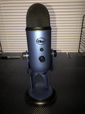 blue yeti mic for Sale in Traverse City, MI