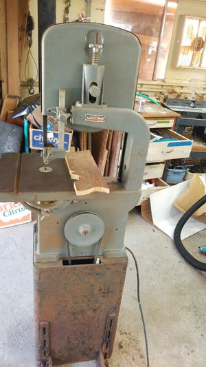 """ATLAS 12"""" BAND SAW ..CAST IRON.. USA 1950'S MAYBE for Sale in Camano Island, WA"""