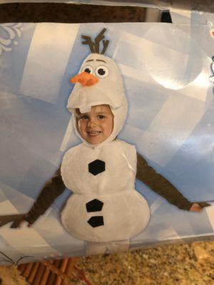 Olaf costume kids for Sale in HUNTINGTN BCH, CA