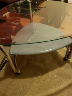 Glass Coffee Table And End Table for Sale in Magna,  UT