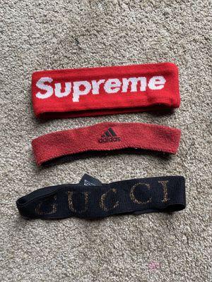 Supreme headband Addis's headband Gucci headband $80 for Sale in Jacksonville, FL