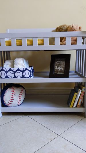 Gray Baby Changing Table for Sale in Deerfield Beach, FL