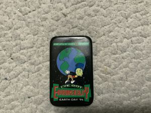 NEW Cast Employee Pin/Button (Not sold to the public) Walt Disney Imagineering WDI Character: Jiminy Cricket Theme: Earth Day 1994 for Sale in Henderson, NV