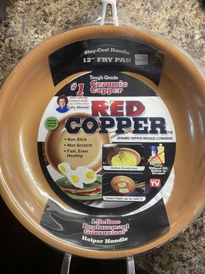 Red Copper Pan for Sale in Chicago, IL