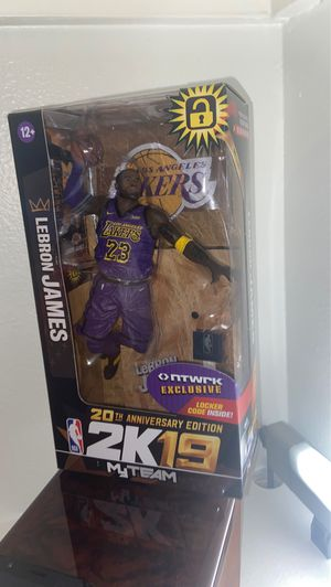 McFarland nba 2k19 LeBron James RARE for Sale in Simi Valley, CA