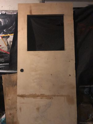 "Unfinished Solid Birch Door 7'0""x3'0"" for Sale in Sebring, FL"
