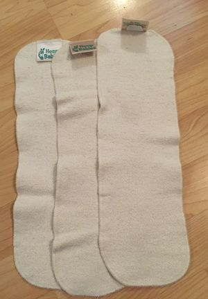 Hemp babies inserts for cloth diapers set of 3 for Sale in Vancouver, WA