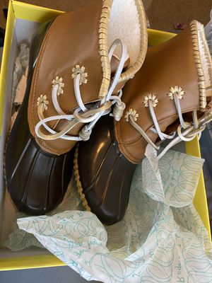 Jack Rogers Rain Boots- size 9 for Sale in Four Oaks, NC