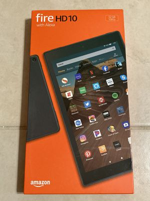 Amazon Fire HD10 Tablet with Alexa for Sale in Las Vegas, NV