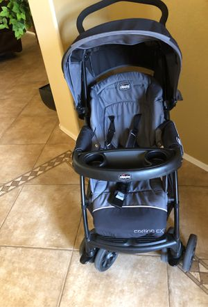Chicco Cortina cx Baby stroller and car seat for Sale in Glendale, AZ