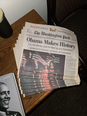 Barack Obama Memorabilia for Sale in Washington, DC