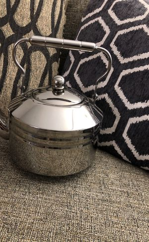 Stainless steel tea pot. Please see all the pictures and read the description for Sale in Falls Church, VA