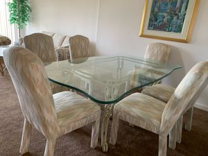 Wrought iron dining set pompano beach for Sale in Pompano Beach, FL