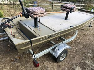 Fishing Boat 1236 G3 with trailer for Sale in Millville, NJ