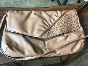 Brown fold over purse for Sale in Sierra Vista, AZ