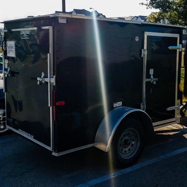 2019 Cargo Craft 5x10 enclosed trailer.