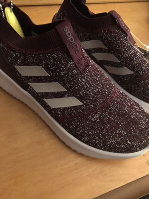 Burgundy/Purple Adidas Sneakers for Sale in Stone Mountain, GA