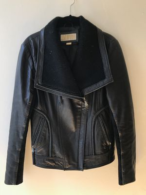 Michael Kors Leather Jacket - Size M for Sale in San Francisco, CA