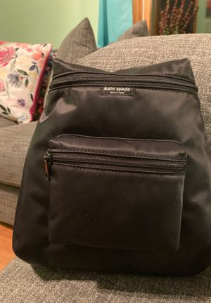 New with tags Kate Spade black nylon backpack for Sale in Milford, CT