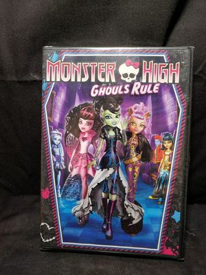 New Monster High Ghouls rule DVD (sealed) for Sale in Zanesville, OH