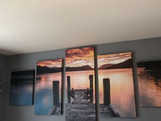 Art Canvas Sunset Pictures for Sale in Puyallup,  WA