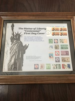 Statue of Liberty Centennial Stamp Collection for Sale in Grand Prairie, TX