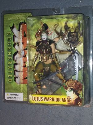 Lotus warrior angel action figure for Sale in Los Angeles, CA