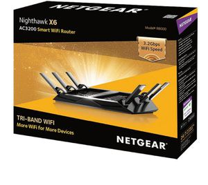 Netgear Nighthawk x6 Router for Sale in Cleveland, OH