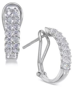 Exquisite Diamond Hoop Earrings (1/2 ct. t.w.) for Sale in HOFFMAN EST, IL