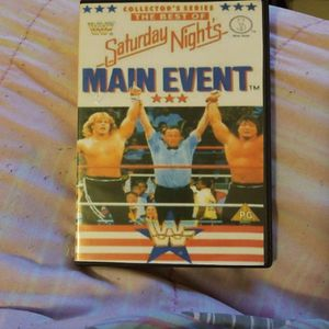 Wwf The Best Of Saturday night's Main event Dvd for Sale in Chicago, IL