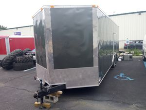 24' ENCLOSED VNOSE TRAILERS BRAND NEW --CAR TRUCK MOTORCYCLE MOVING STORAGE for Sale in Freehold, NJ