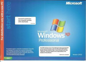Microsoft XP Professional with Service Pack 2 for Sale in El Paso, TX