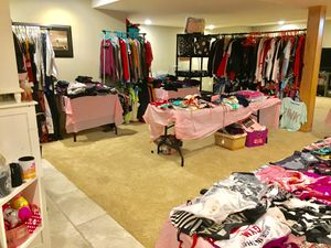 Huge PINK indoor back to school sale XS-XL for Sale in Hartford, WI