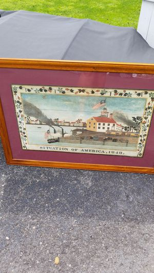 Picture oak frame for Sale in Lewisburg, PA