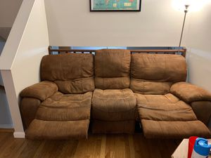 Reclining Couch for Sale in Richmond, VA