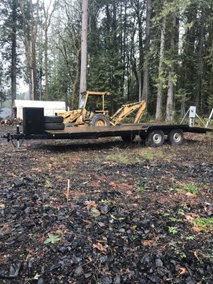 25' equipment trailer 14k for Sale in Lacey, WA