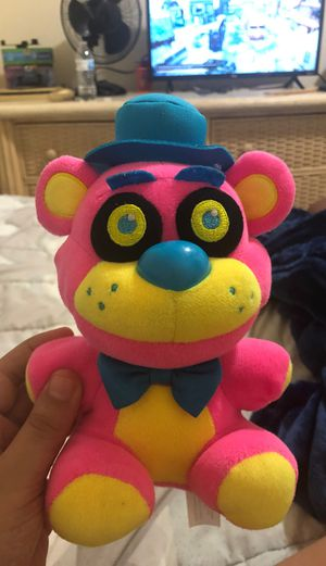 Nightlight Freddy fazbear plushy for Sale in Silver Spring, MD