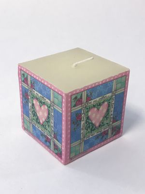 White Square Unscented Candle for Sale in Garner, NC
