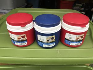 Mainstays insulated food jar, 15.5 ounce capacity, fold up spoon inside lid 7 Dollars Each for Sale in Glenshaw, PA