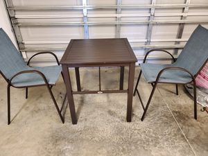 Patio table and 2 chairs for Sale in Camp Lejeune, NC