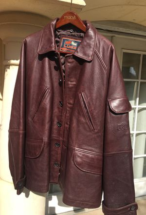 Motorcycle leather Jacket. LUGZ . Genuine leather. Excellent condition. for Sale in Fremont, CA