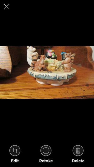 NICE WINTER SCENE CANDLE TOPPER for Sale in Lynchburg, VA