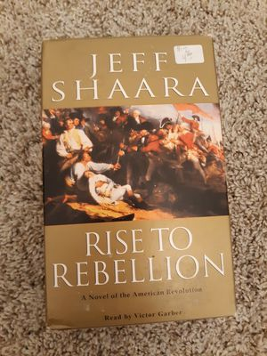 Rise to Rebellion Audio Cassettes Jeff Shaara for Sale in Arlington, WA