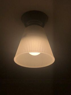 Set of TWO ceiling hallway or bathroom or living room light fixtures for Sale in Washington,  DC