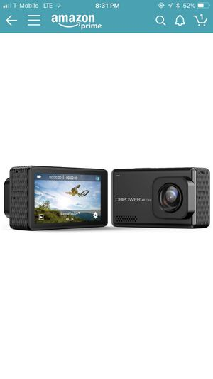 """DBPOWER EX7000 PRO 4K Action Camera 2.45"""" LCD Touchscreen Underwater Camera with 16MP Sony Image Sensor Waterproof Sports Cam and 170° Wide-Angle Len for Sale in Portland, OR"""