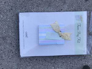 Favor bags for baby shower gender reveling for Sale in West Covina, CA