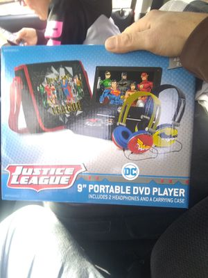 Brand New justice league portable DVD players for Sale in Cincinnati, OH