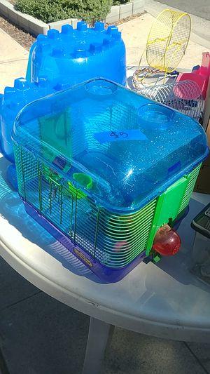 Small Critter Cage & Accessories for Sale in Fresno, CA