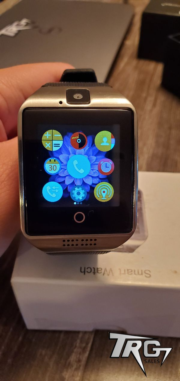 NEW Q18 SMARTWATCH FOR ANDROID AND IPHONES BLUETOOTH CONNECTION