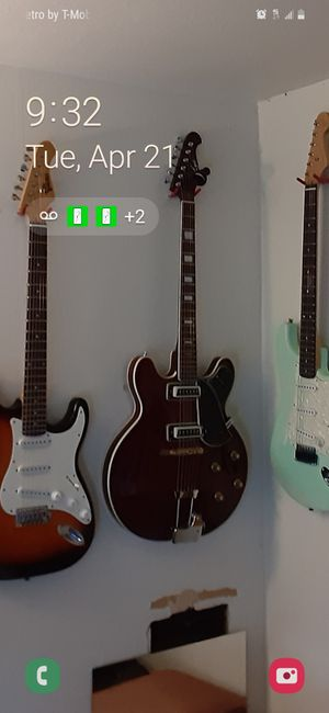 Vintage LYLE 335 STYLE ELECTRIC GUITAR- Made in Japan Late 60s -early 70s for Sale in Tacoma, WA